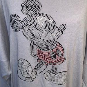 Disney Parks Mickey sweatshirt.